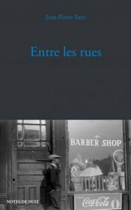 Entre les rues Jean-Pierre Faye